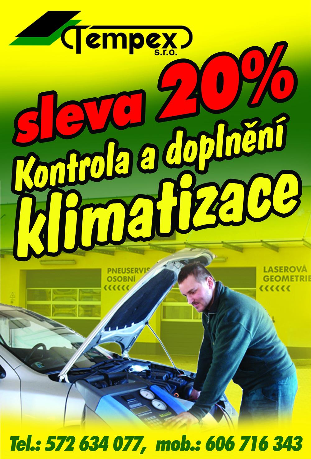 SLEVA 20% na klimatizace