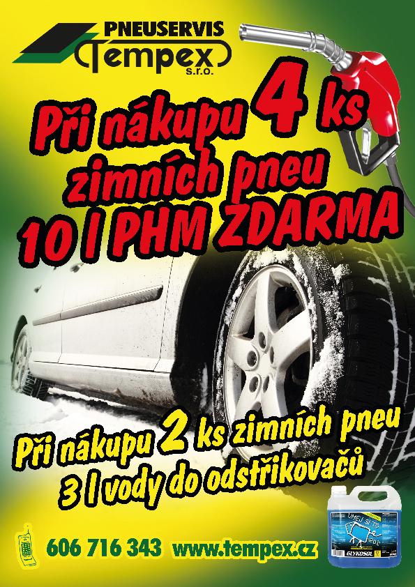 Nezapomeňte přezout na zimní pneu.