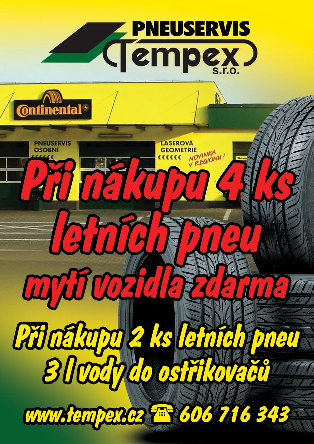 Akce letní pneumatiky!