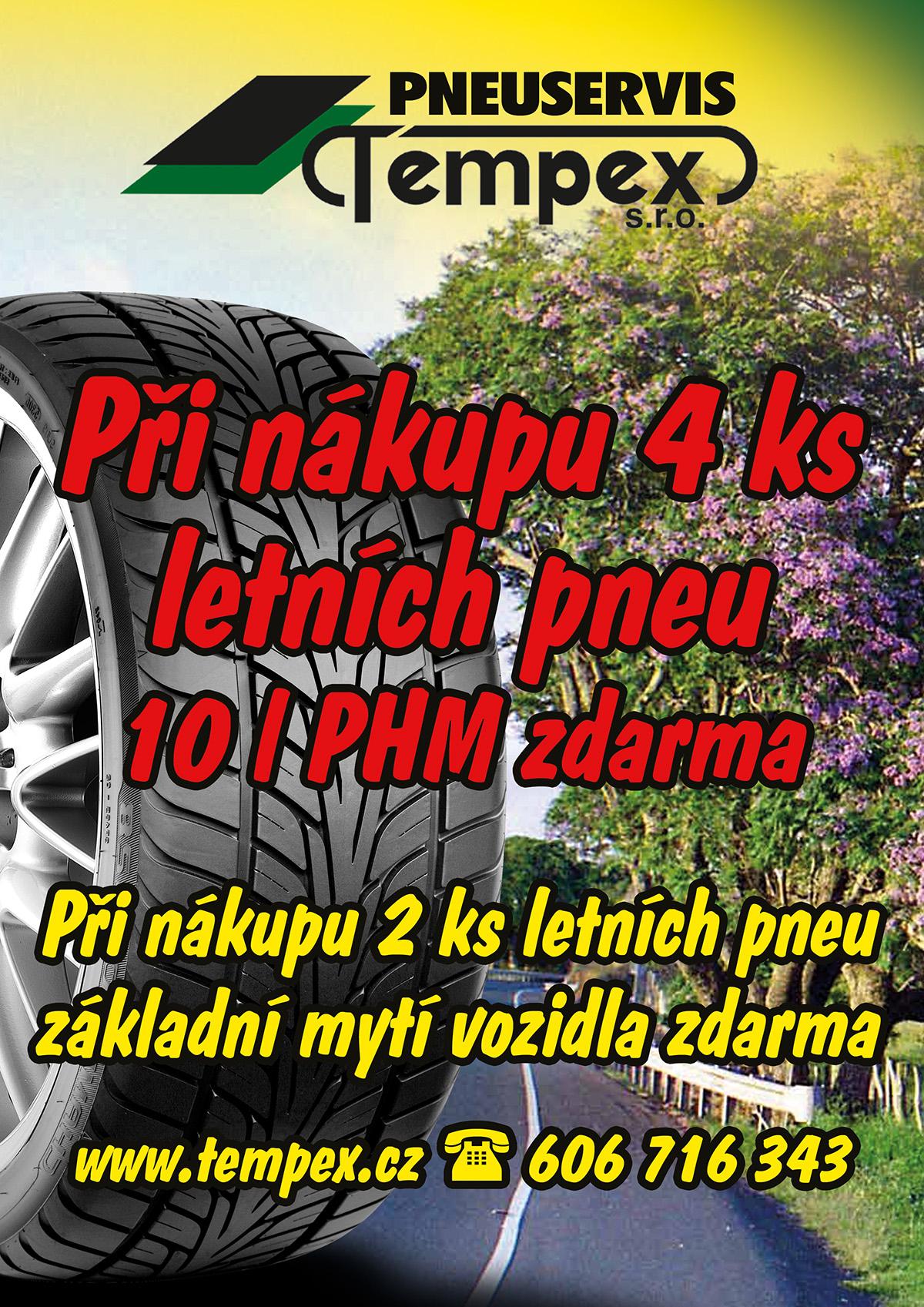 Jaro se blíží. Využijte služeb našeho pneuservisu.